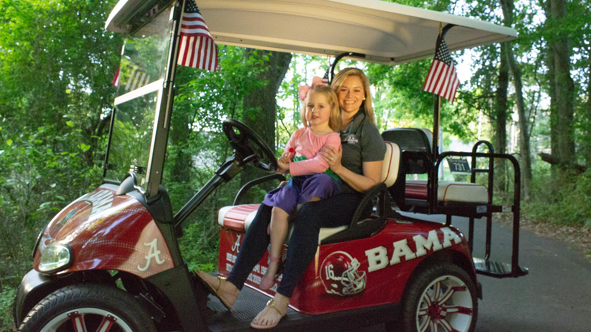 This is our Alabama cart.